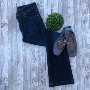 Lucky Brand Bridgette Mini Boot Jeans